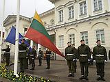 Ehrenbrigade in Vilnius / Litauen