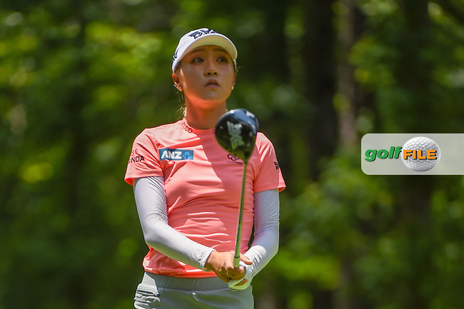 Lydia Ko (NZL) watches her tee shot on 2 during round 1 of the U.S. Women's Open Championship, Shoal Creek Country Club, at Birmingham, Alabama, USA. 5/31/2018.<br /> Picture: Golffile | Ken Murray<br /> <br /> All photo usage must carry mandatory copyright credit (© Golffile | Ken Murray)