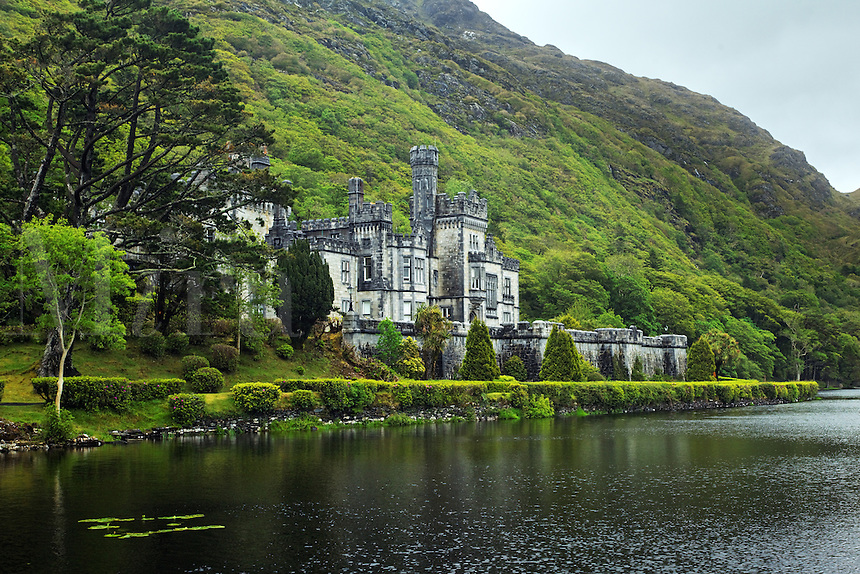 Kylemore Abbey, Connemara, County Galway, Republic of Ireland