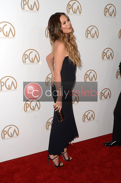Chrissy Teigen<br /> at the 2017 Producers Guild Awards, Beverly Hilton Hotel, Beverly Hills, CA 01-28-17<br /> David Edwards/DailyCeleb.com 818-249-4998