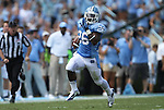 01 September 2012: UNC's Giovanni Bernard breaks free for his third touchdown. The University of North Carolina Tar Heels played the Elon University Phoenix at Kenan Memorial Stadium in Chapel Hill, North Carolina in a 2012 NCAA Division I Football game.