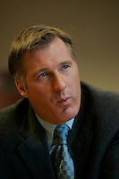 Montreal (Qc) CANADA - file photo- Dec 8, 2006- <br /> Maxime Bernier.<br /> <br /> The Honourable Maxime Bernier<br /> Minister of Foreign Affairs<br /> <br /> Beauce (Quebec)<br /> <br /> Maxime Bernier, first elected to the House of Commons in 2006, was appointed Minister of Industry on February 6, 2006.<br /> <br /> Before his election, Mr. Bernier was Vice-President of Corporate Affairs and Communications for Standard Life of Canada insurance company, and Director of Business and International Relations at the Commission des valeurs mobiliZres du Qu&eacute;bec. He has worked for financial and banking institutions and has provided advice on their behalf on various legislative issues.<br /> <br /> Mr. Bernier is a lawyer with a bachelorOs degree in commerce. He was a member of the board of the Montreal Economic Institute and is a member of several charitable organizations. He was born and raised in Beauce, Quebec.<br /> Photo (c)  Images Distribution