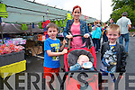 Taking in the scenery at the fair day in Kenmare are <br /> Michelle, Jack, Brooke and Dean Sweeney.