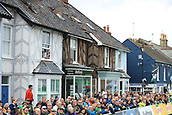 8th September 2017, Newmarket, England; OVO Energy Tour of Britain Cycling; Stage 6, Newmarket to Aldeburgh; Residents of Aldeburgh watch the finish