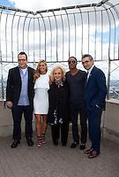 Tom Arnold, Denise Richards, Doris Roberts, Romeo Miller and Eugene Levy at the Empire State Building for TYLER PERRY'S MADEA'S WITNESS PROTECTION in New York City.   June 26, 2012 &copy; Laura Trevino/Media Punch Inc. *NORTEPHOTO*<br /> <br /> **SOLO*VENTA*EN*MEXICO** **CREDITO*OBLIGATORIO** *No*Venta*A*Terceros* *No*Sale*So*third* *** No Se Permite Hacer Archivo** *No*Sale*So*third*&Acirc;&copy;Imagenes con derechos de autor,&Acirc;&copy;todos reservados. El uso de las imagenes est&Atilde;&iexcl; sujeta de pago a nortephoto.com El uso no autorizado de esta imagen en cualquier materia est&Atilde;&iexcl; sujeta a una pena de tasa de 2 veces a la normal. Para m&Atilde;&iexcl;s informaci&Atilde;&sup3;n: nortephoto@gmail.com* nortephoto.com.