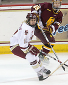 Shannon Webster (BC - 12), (Wong) - The University of Minnesota-Duluth Bulldogs defeated the Boston College Eagles 3-0 on Friday, November 27, 2009, at Conte Forum in Chestnut Hill, Massachusetts.