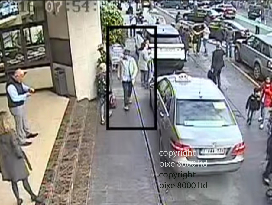 """Pic shows: New cctv shows details  him walking casually away after the bombs were detonated at 7.58 am<br /> <br /> Belgian police issue new CCTV  in the hunt for the man variously known as """"the man in white"""" or """"the man in the hat""""<br /> He was seen alongside Ibrahim El-Bakraoui and Najim Laachraoui shortly before they detonated suicide bombs in the departure hall, killing 14 people.<br /> <br /> <br /> <br /> <br /> Pic by Pixel 8000 Ltd"""