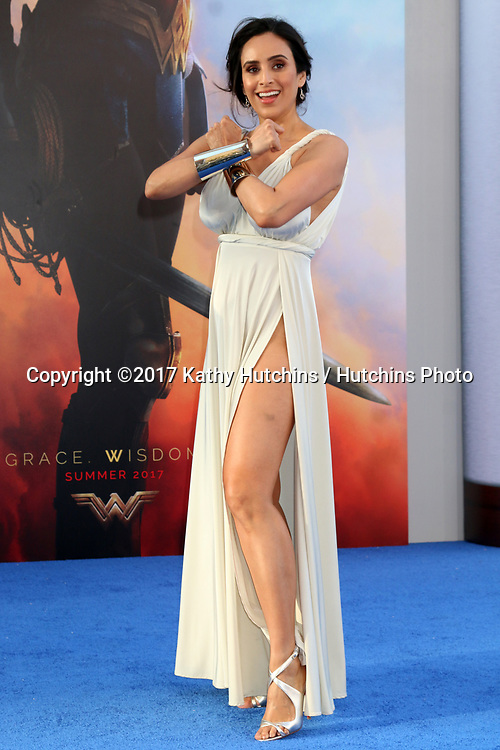 "LOS ANGELES - MAY 25:  Valerie Perez at the ""Wonder Woman"" Los Angeles Premiere at the Pantages Theater on May 25, 2017 in Los Angeles, CA"