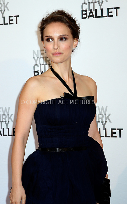 WWW.ACEPIXS.COM . . . . .  ....May 10 2012, New York City....Honorary Chairman, actress Natalie Portman arriving at the 2012 New York City Ballet Spring Gala at the David Koch Theatre at Lincoln Center on May 10, 2012 in New York City.....Please byline: NANCY RIVERA- ACEPIXS.COM.... *** ***..Ace Pictures, Inc:  ..Tel: 646 769 0430..e-mail: info@acepixs.com..web: http://www.acepixs.com