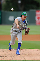 Pitcher Matt Murray (33) of the Lexington Legends in a game against the Greenville Drive on Sunday, August 18, 2013, at Fluor Field at the West End in Greenville, South Carolina. Greenville won Game 2 of a doubleheader, 1-0. (Tom Priddy/Four Seam Images)