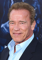 HOLLYWOOD, LOS ANGELES, CA, USA - AUGUST 11: Arnold Schwarzenegger at the Los Angeles Premiere Of Lionsgate Films' 'The Expendables 3' held at the TCL Chinese Theatre on August 11, 2014 in Hollywood, Los Angeles, California, United States. (Photo by Xavier Collin/Celebrity Monitor)