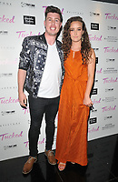 Jamie Patterson and April Pearson at the &quot;Tucked&quot; London film premiere, Cineworld Leicester Square, Leicester Square, London, England, UK, on Tuesday 14th May 2019.<br /> CAP/CAN<br /> &copy;CAN/Capital Pictures