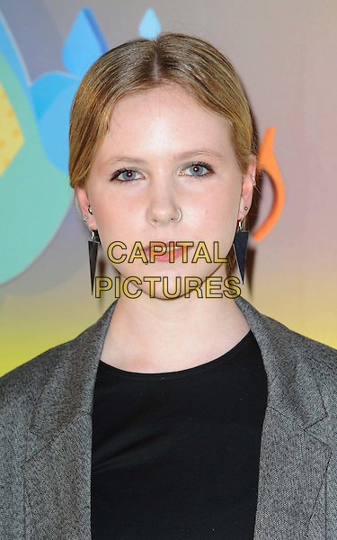 MISTY MILLER .attends the launch party for Havaianas new range of wellies at Selfridges, London, England, UK, .April 14th, 2011..portrait headshot black grey gray earrings spikes  nose ring  .CAP/WIZ.© Wizard/Capital Pictures.