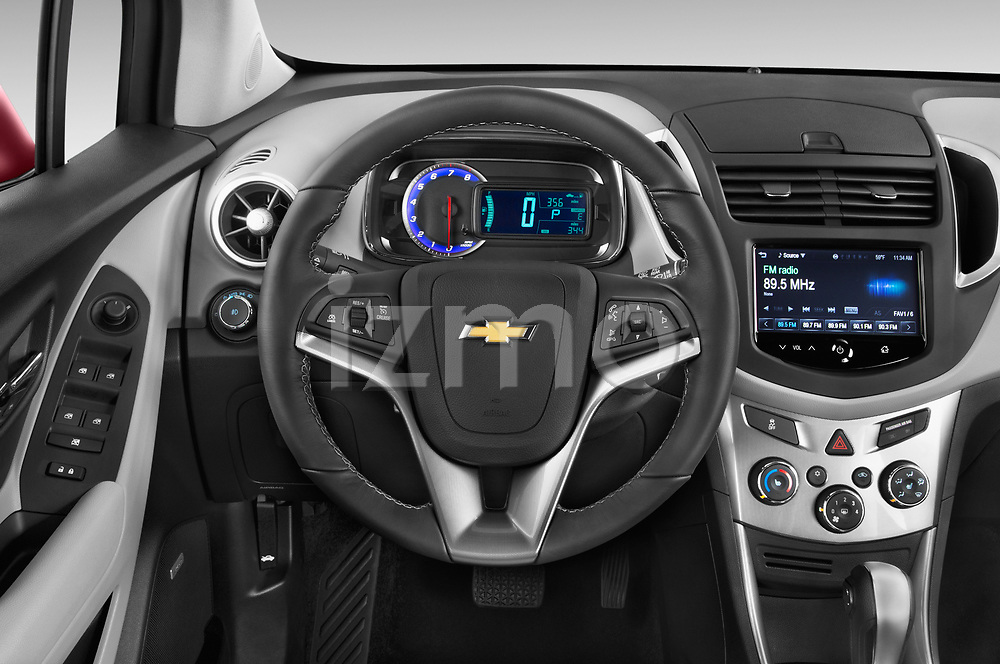 Car pictures of steering wheel view of a 2015 Chevrolet Trax LTZ 5 Door SUV Steering Wheel