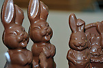 BUSINESS: 'chocolate bunnies and eggs' at Skelligs Chocolates in St. Finan's Bay, County Kerry..Picture by Don MacMonagle
