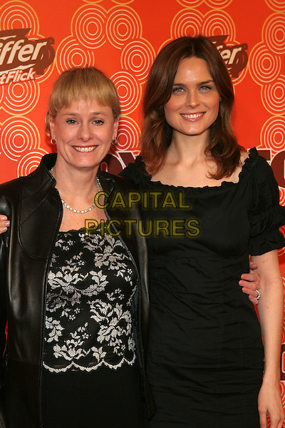 24 October 2005 - Hollywood, California - Kathy Reichs and Emily Deschanel.  FOX Fall Casino Party held at the Cabana Club.  Photo Credit: Zach Lipp/AdMedia