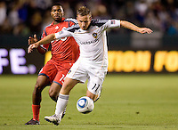 LA Galaxy midfielder Christopher Birchall (11) moves with the ball. The LA Galaxy and Toronto FC played to a 0-0 draw at Home Depot Center stadium in Carson, California on Saturday May 15, 2010.  .