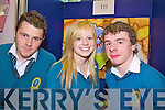 REFRIGERATION SYSTEM: Brian Daly, Fiona Reidy and John Prendergast from Mercy Mounthawk Secondary School with their project Fridgeeco at Scifest in the ITT.