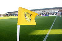 A general view of The Pirelli Stadium home of Burton Albion<br /> <br /> Photographer Mick Walker/CameraSport<br /> <br /> The Carabao Cup Round Three   - Burton Albion  v Burnley - Tuesday  25 September 2018 - Pirelli Stadium - Buron On Trent<br /> <br /> World Copyright &copy; 2018 CameraSport. All rights reserved. 43 Linden Ave. Countesthorpe. Leicester. England. LE8 5PG - Tel: +44 (0) 116 277 4147 - admin@camerasport.com - www.camerasport.com