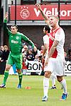 Nederland, Amsterdam, 27 juni 2012.Seizoen 2012/2013.Eerste Training Ajax 2012.Toby Alderweireld geniet van de eerste training
