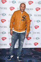 Goldie<br /> at The Ivor Novello Awards 2017, Grosvenor House Hotel, London. <br /> <br /> <br /> ©Ash Knotek  D3267  18/05/2017