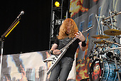Megadeth - vocalist guitarist Dave Mustaine performing live on Day One on the Main Stage at the 2007 Download Festival at Donington Park, Leicestershire, UK - 08 Jun 2007.   Photo Credit: Ben Rector/IconicPix