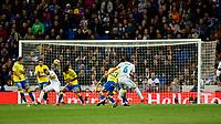 Real Madrid's Nacho Fernandez  and UD Las Palmas'  during La Liga match. November 5,2017. (ALTERPHOTOS/Inma Garcia)