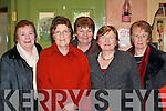 LADIES NIGHT: Sheila Cahillane, Mary Fenton, Kitty O'Sullivan, Margaret Coakley and Nuala O'Keeffe from St Joseph's retirement home, Killorglin enjoying the Kilcolman Women's Social in Kate Kearney's Cottage, Beaufort on Monday.   Copyright Kerry's Eye 2008