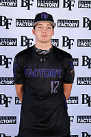 Zachary Williams (12) of College Station High School in College Station, Texas during the Baseball Factory All-America Pre-Season Tournament, powered by Under Armour, on January 12, 2018 at Sloan Park Complex in Mesa, Arizona.  (Mike Janes/Four Seam Images)