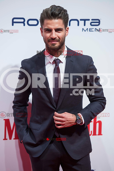 Maxi Iglesias attends to Men's Health awards 2017 photocall at Goya Theater in Madrid, Spain. November 20, 2017. (ALTERPHOTOS/Borja B.Hojas) /NortePhoto.com
