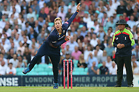 Simon Harmer in bowling action for Essex during Surrey vs Essex Eagles, Vitality Blast T20 Cricket at the Kia Oval on 12th July 2018