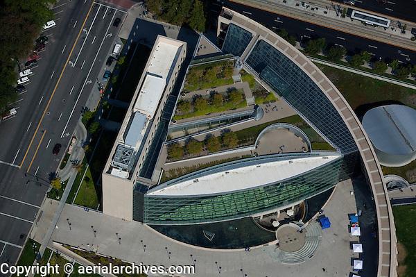 Aerial Photograph Salt Lake City Public Library Salt Lake City