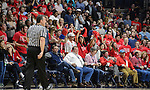 Ole Miss basketball vs. Texas A&M at The Pavilion at Ole Miss on Wednesday, Jan. 25, 2017. Photo by Thomas Graning/Ole Miss Communications