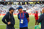 Santiago Gomez Cora & Gordons Tietjens Second day at Cape Town 7s for HSBC World Rugby Sevens Series 2018, Cape Town, South Africa - Photos Martin Seras Lima
