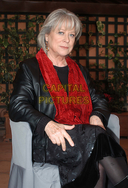 MARGARETHE VON TROTTA.at photocall in Rome.January 2004.half length, half-length.www.capitalpictures.com.sales@capitalpictures.com.© Capital Pictures.