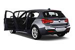 Car images close up view of a 2018 BMW 1 Series Base 5 Door Hatchback doors