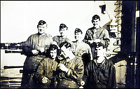 BNPS.co.uk (01202 558833)<br /> Pic: AlexanderHistoricalAuctions/BNPS<br /> <br /> Crew members relax with a cigarette on the U-Boat.<br /> <br /> Fascinating images which provide a snapshot of life on a German U-Boat have been unearthed.<br /> <br /> Interestingly, the photographs give us an insight into joyous occasions on the U-976 destroyer including alcohol fuelled parties and gatherings in the mess hall.<br /> <br /> The photo album which was collated by First Officer Lieutenant Wilhelm Hinrichs has now emerged for auction and is tipped to sell for &pound;1,200.<br /> <br /> The U-976 was sunk on March 25, 1944, just a few months before the Normandy landings, near St Nazaire in France by gunfire from two British Mosquito fighter-bombers.
