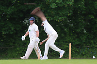 Monty Panesar during Shenfield CC (batting) vs Hornchurch CC (Bowling) ,Shepherd Neame Essex League Cricket at Chelmsford Road on 12th May 2018