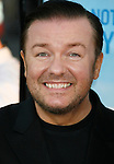 """HOLLYWOOD, CA. - September 21: Ricky Gervais  arrives at the Los Angeles premiere of """"The Invention of Lying"""" at the Grauman's Chinese Theatr on September 21, 2009 in Hollywood, California."""