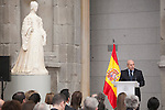 Spanish Culture Minister Ignacio Wert attends Velazquez Visual Arts Award ceremony at Prado Museum in Madrid, Spain. November 17, 2014. (ALTERPHOTOS/Victor Blanco)
