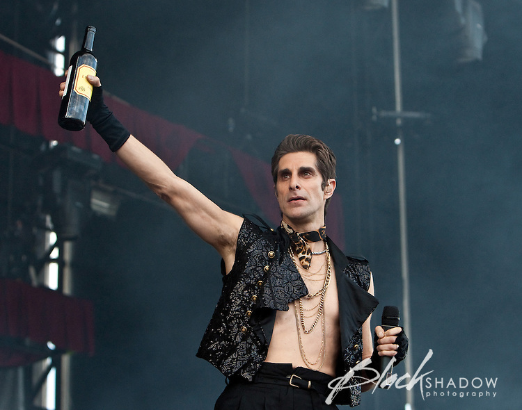 Janes Addiction performing at the Soundwave Festival, Melbourne Show Ground, 26 February 2010