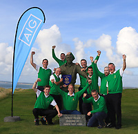 Tralee Team winners of the Munster Final of the AIG Barton Shield at Tralee Golf Club, Tralee, Co Kerry. 12/08/2017<br /> <br /> Picture: Golffile | Thos Caffrey<br /> <br /> All photo usage must carry mandatory copyright credit     (&copy; Golffile | Thos Caffrey)
