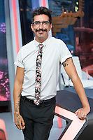 Spanish actor Jorge Marron Martin during the presentation of the new season of the tv show · El Hormiguero · of Antena 3 channel. September 01, 2016. (ALTERPHOTOS/Rodrigo Jimenez) NORTEPHOTO