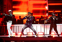 LAS VEGAS, NEVADA - NOVEMBER 17: Bell Biv DeVoe perform onstage during the 2018 Soul Train Awards at the Orleans Arena on November 17, 2018 in Las Vegas, Nevada. (Photo by Frank Micelotta/PictureGroup)