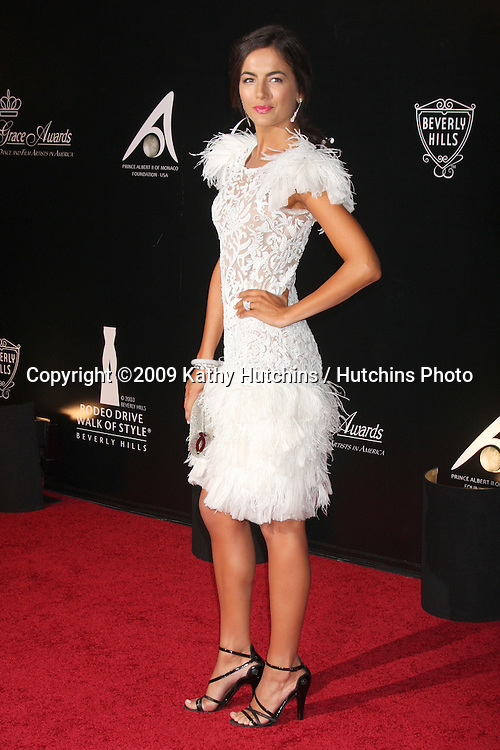 Camilla Belle.Rodeo Drive Walk of Style Awards 2009 honoring Princess Grace of Monaco & Cartier.Rodeo Drive.Beverly Hills,  CA.October 22, 2009.©2009 Kathy Hutchins / Hutchins Photo.