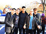 The Wanted at the 86th Annual Macy's Thanksgiving Day Parade on November 22, 2012 in New York City, New York. (Photo by Sue Coflin/Max Photos)