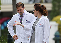 WASHINGTON, D.C. - JULY 27: Members of the American Frontline Doctors seen while at Capitol Hill after giving a press conference addressing COVID-19 misinformation in Washington D.C. on July 27, 2020. <br /> CAP/MP34<br /> ©MPI34/Capital Pictures