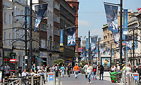 Pictured: St Mary's Street, Cardiff Thursday 25 May 2017<br />