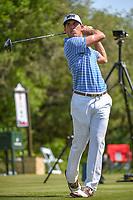 Billy Horschel (USA) watches his tee shot on 9 during Round 1 of the Valero Texas Open, AT&amp;T Oaks Course, TPC San Antonio, San Antonio, Texas, USA. 4/19/2018.<br /> Picture: Golffile | Ken Murray<br /> <br /> <br /> All photo usage must carry mandatory copyright credit (&copy; Golffile | Ken Murray)