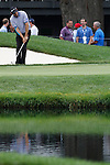 Padraig Harrington (IRL) on the 16th green on day 1of the World Golf Championship Bridgestone Invitational, from Firestone Country Club, Akron, Ohio. 4/8/11.Picture Fran Caffrey www.golffile.ie